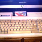 """Banco de pruebas: MSX en LCD Samsung 27"""""""