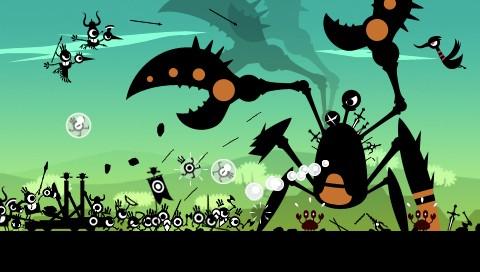 Patapon - Contra el cangrejo gigante