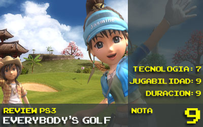 Nota Everybody's Golf World Tour: 9