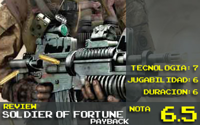 Soldier of Fortune Nota: 6.5