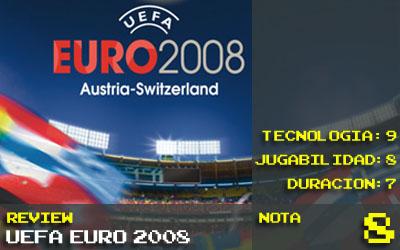 Uefa Euro 2008: Nota 8
