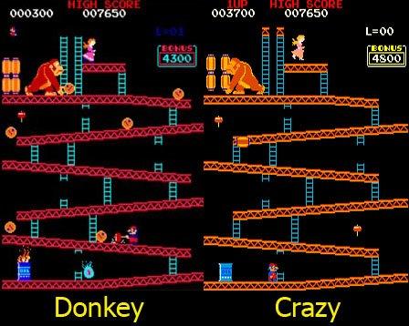 Comparando Donkey y Crazy