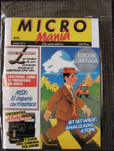 MicroManía 1 Limitada
