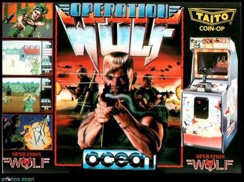Operation Wolf Carátula