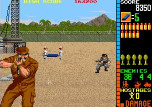Operation Wolf Arcade