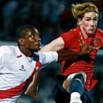 Pre-Eurocopa: España 2- Perú 1