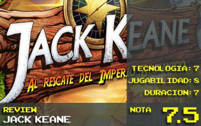 Jack Keane nota 7.5