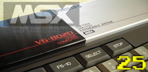 MSX 25 aniversario