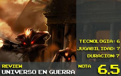 Universo Guerra Nota 6.5