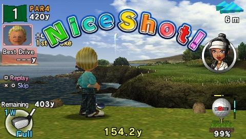 Everybodys Golf 2 PSP