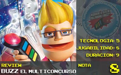 Buzz Multiconcurso nota 8