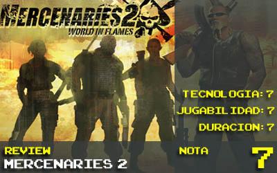 Mercenaries 2 Nota 7