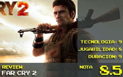 Far Cry 2 Nota 8.5