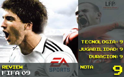 Nota Fifa09: 9