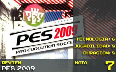 PES 2009 PS3 - Nota 7