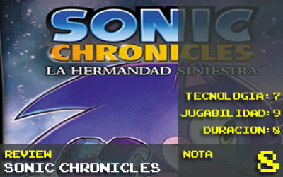 Sonic Chronicles: 8