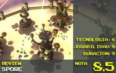 Nota Spore 8.5