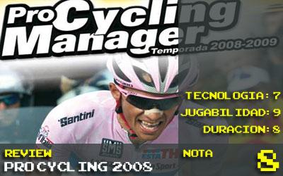 Nota Pro Cycling 2008: 8
