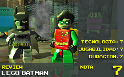Batman LEGO : nota 7