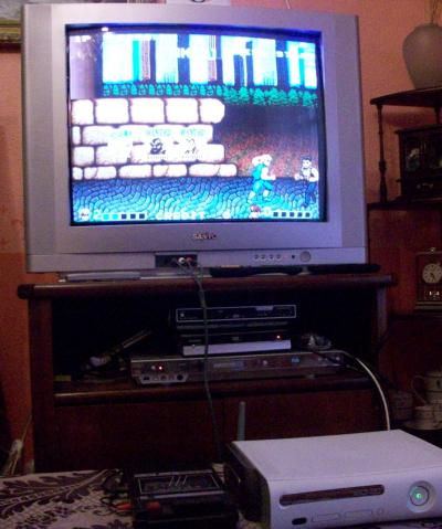Double Dragon funcionando