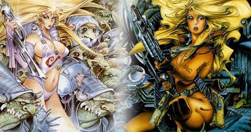 Chicas sexys en videojuegos españoles: Lorna vs Phantis