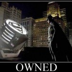 Owned batmaníaco a los piratas en Batman Arkham Asylum