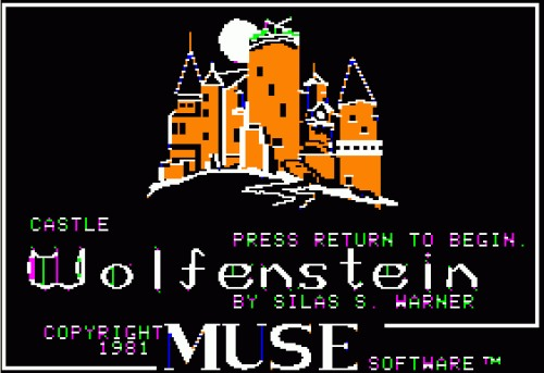 Castle Wolfenstein Apple II