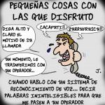 La Tira del Cascarrabias: números + rimas y teleoperadores