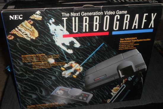 Unboxing Turbografx