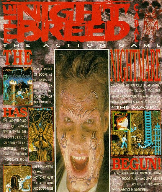 Ocean Software 1990 Nightbreed