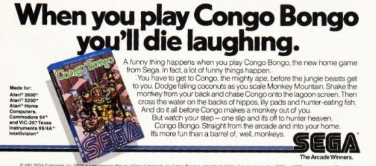 Congo Bongo y el barril de monos