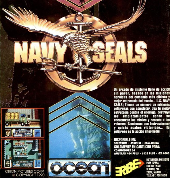 Ocean Software 1990 Navy Seals