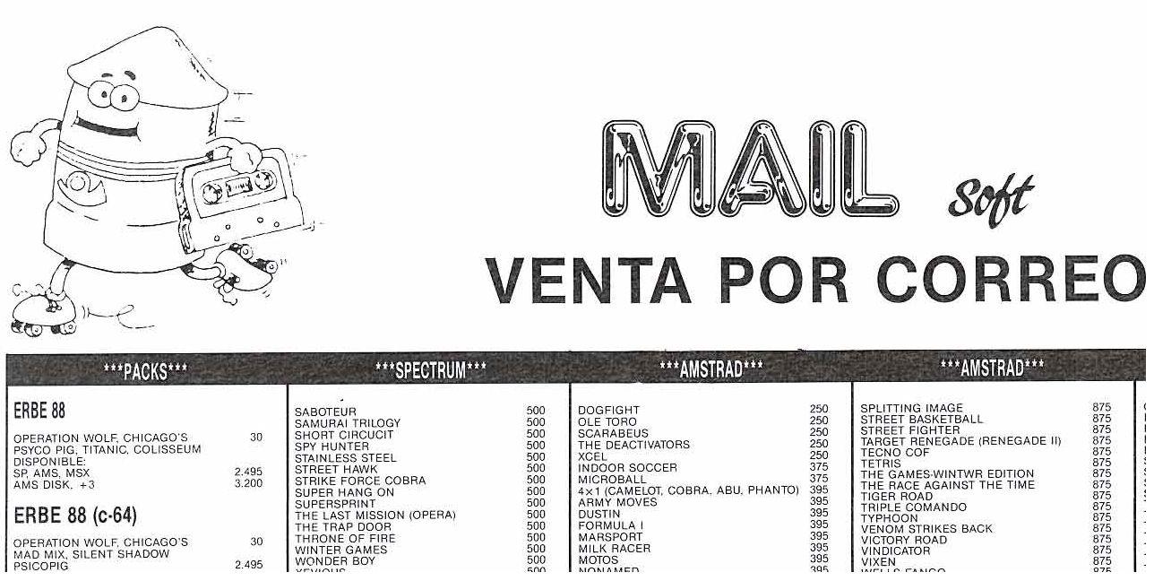 Mail-Soft-Venta por Correo