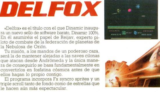 Delfox en Microhobby