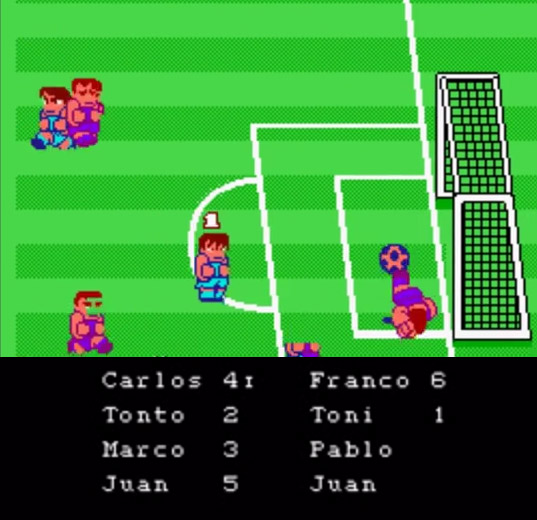 NES World Cup Spain