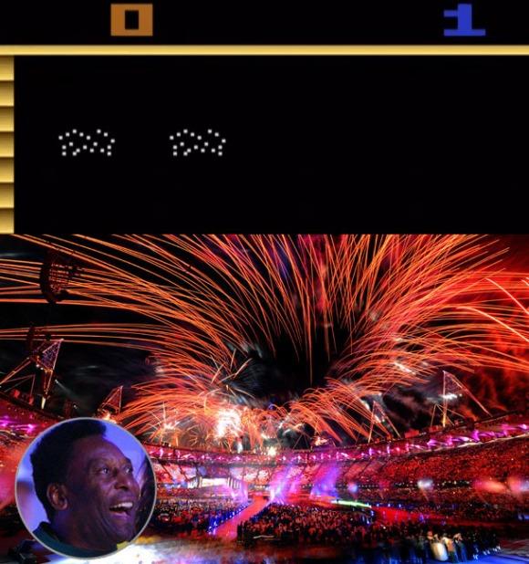 Pele's Soccer Fireworks