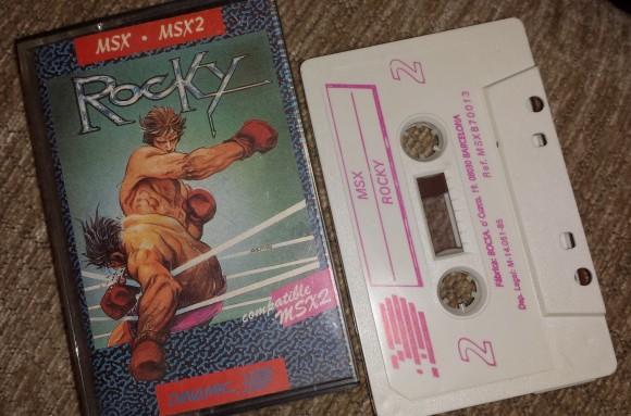 Rocky cassette para MSX