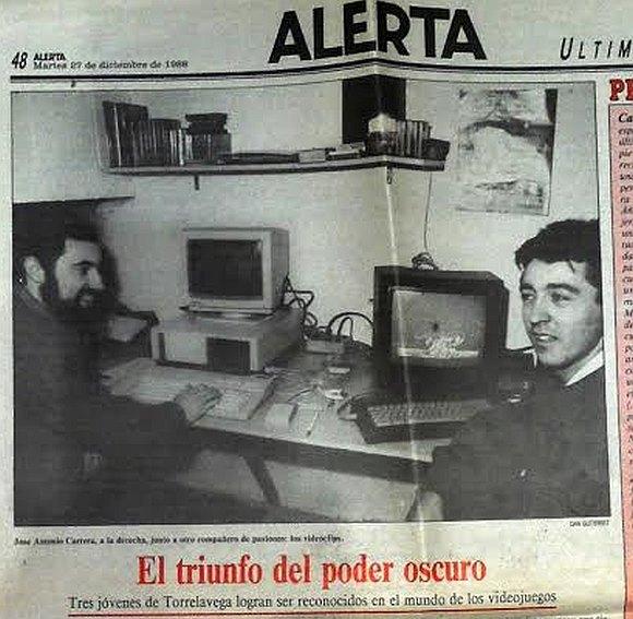 El Poder Oscuro - Periódico Alerta Dic 1988