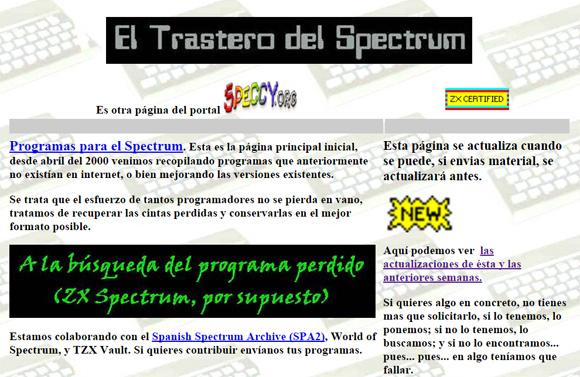 El Trastero del Spectrum