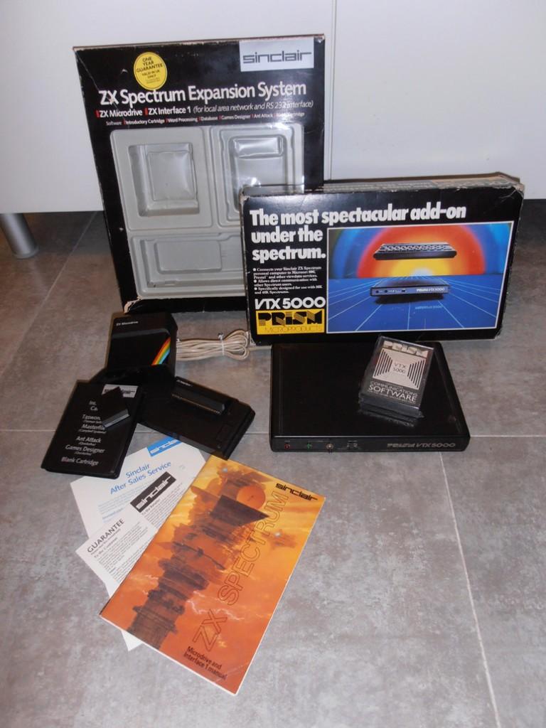 ZXSES y VTX5000