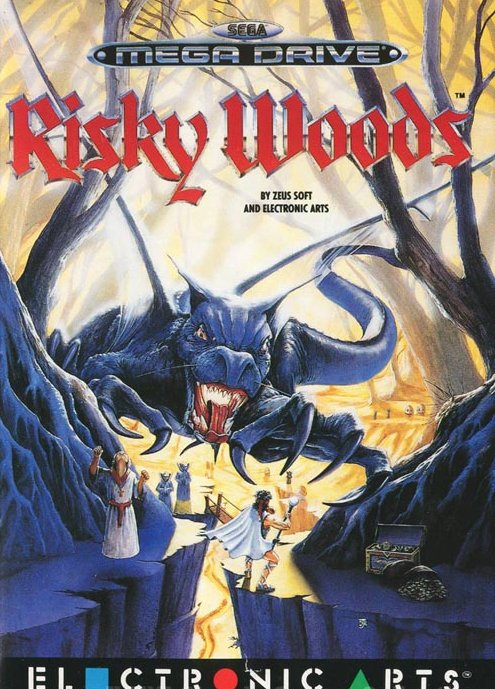 Risky Woods Cover EA