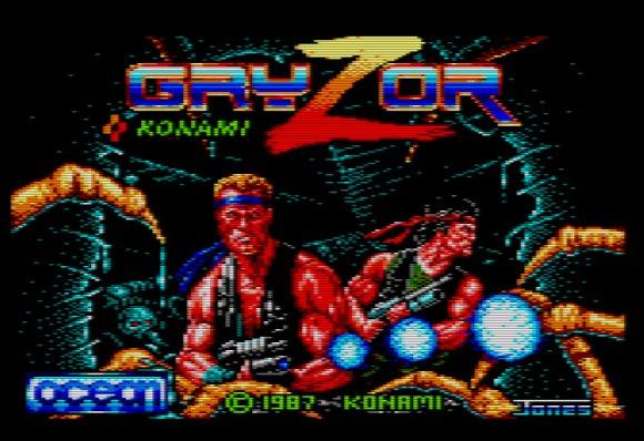 Gryzor Amstrad CPC