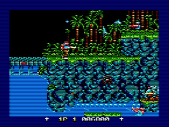 Gryzor CPC Gameplay
