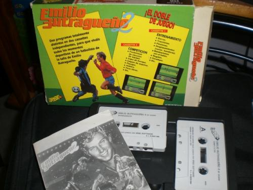 Caja Butragueño 2 MSX - Contenido
