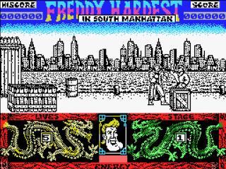 Freddy en Manhattan Sur