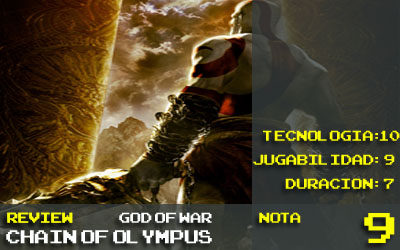 Nota God of War 9