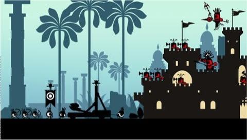 Patapon - Asedio al castillo