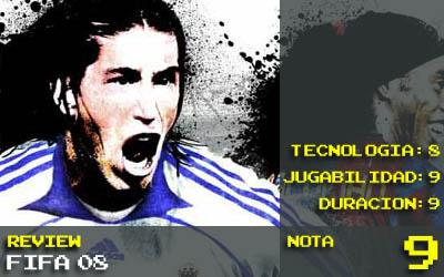 FIFA 08 Nota: 9