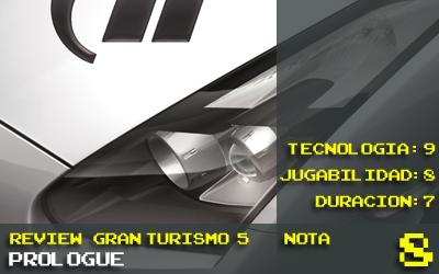 Nota GT5 Prologue