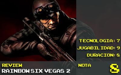Nota Vegas 2: 8